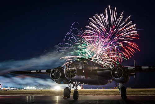 Angeline Haslett's winning entry for Best Static Photo from the Abbotsford International Airshow