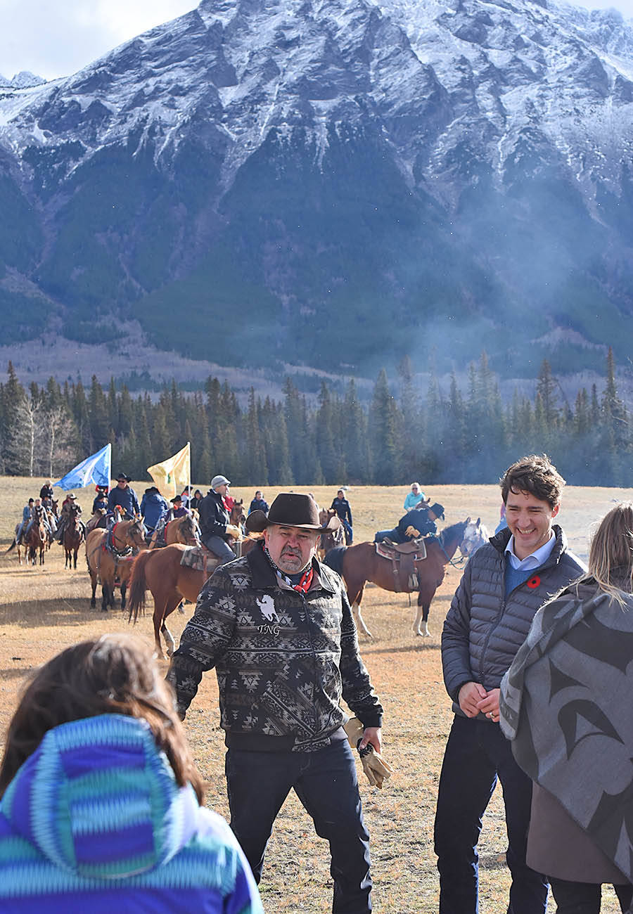 Trudeau exonerates hanged war chiefs of 1864 on B.C. Tsilhqot'in title lands