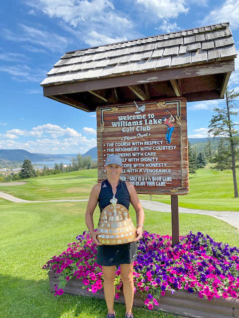 Lisa Kerley won the Women's Overall Low Gross title at the Club Championships with a two-day score of 158. (Photo submitted)