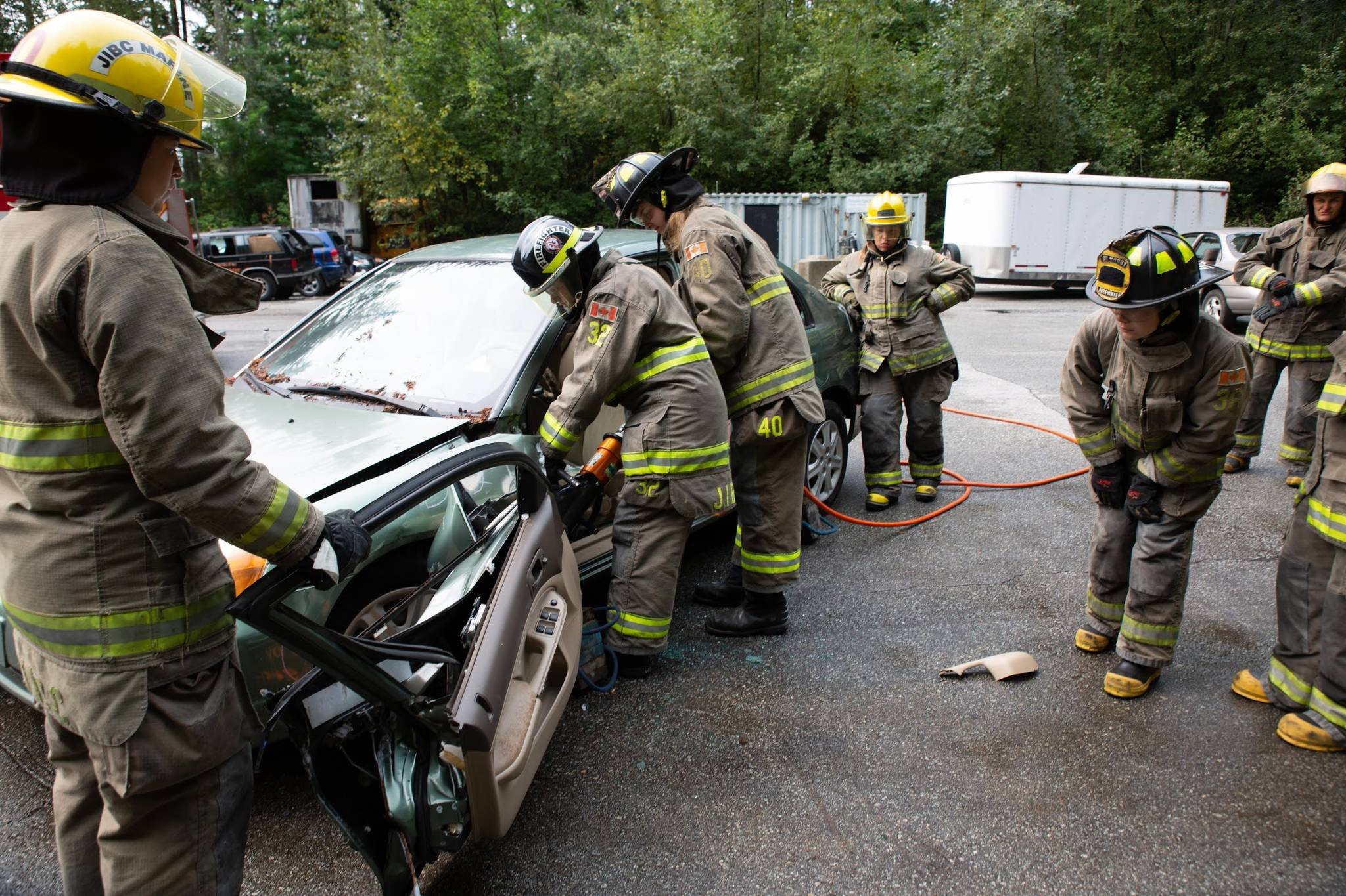Campers learn auto extrication at past year's Camp Ignite. Photo supplied by Camp Ignite