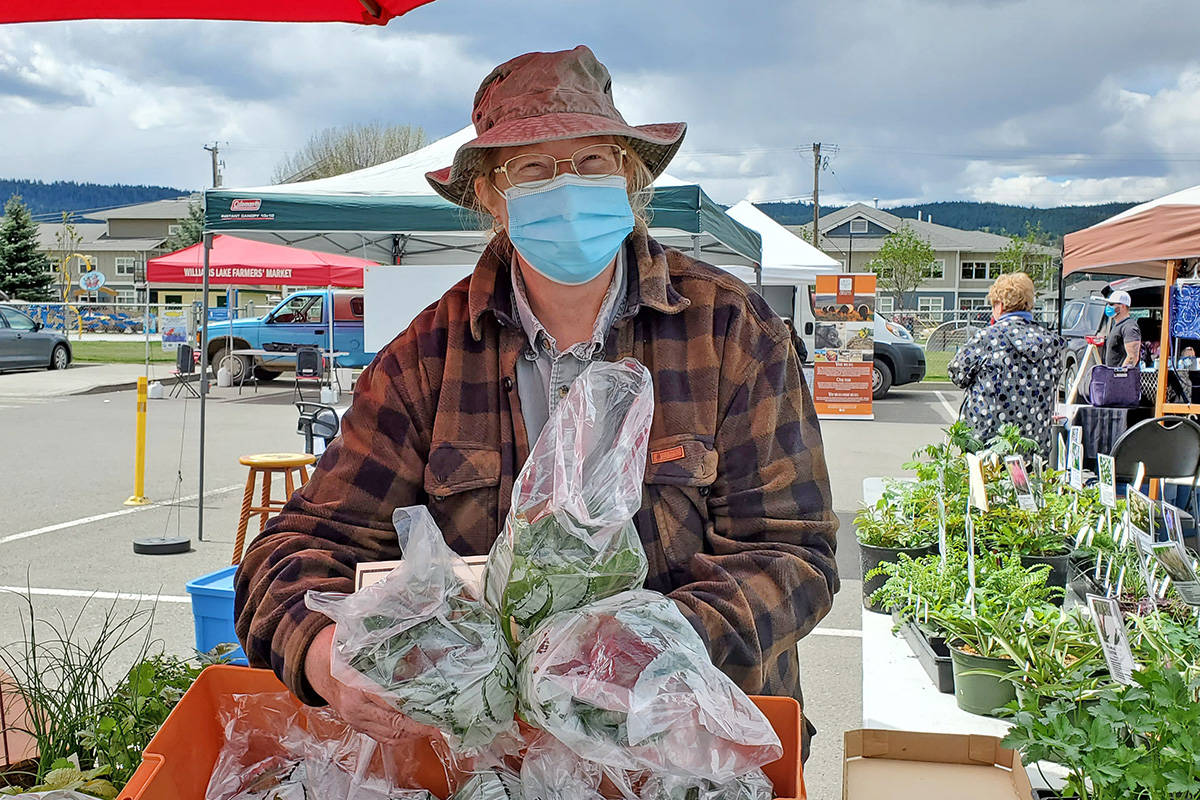 Williams Lake Farmers Market manager Barb Scharf said the Tuesday evening market is being cancelled June 29 because of the heat wave. (Monica Lamb-Yorski photo - Williams Lake Tribune)